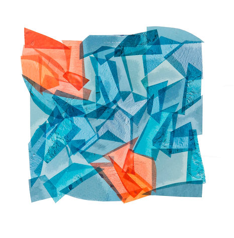 BLUE WITH TOUCHES OF ORANGE_8x8_2017_Cap