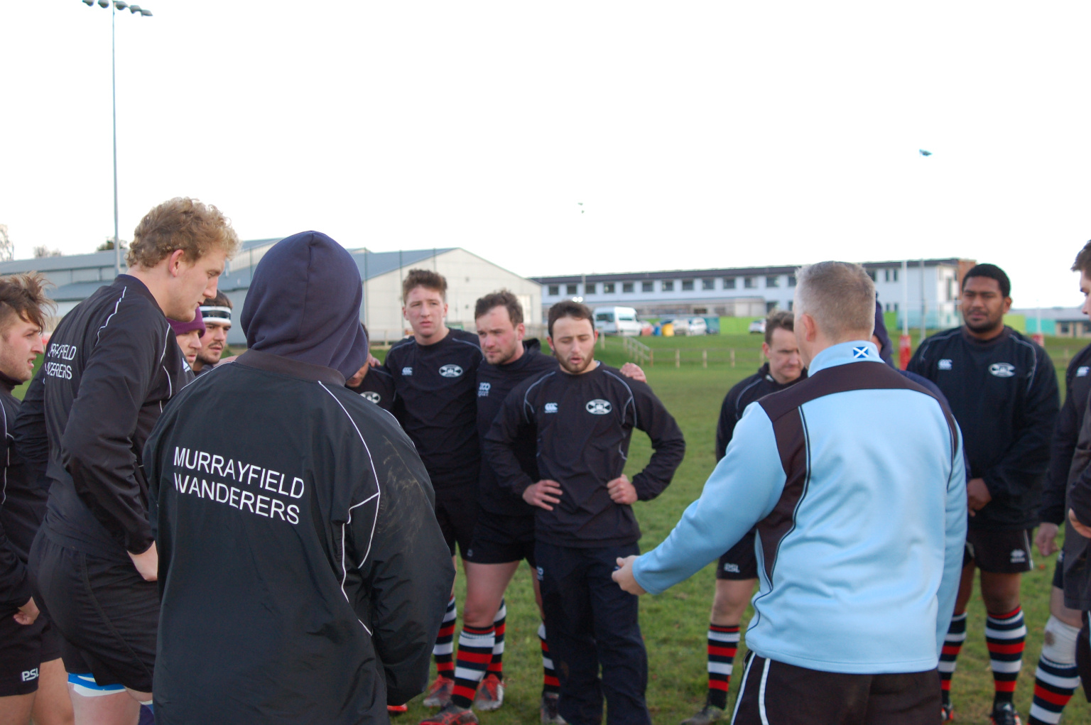 Pre Match Team Talk