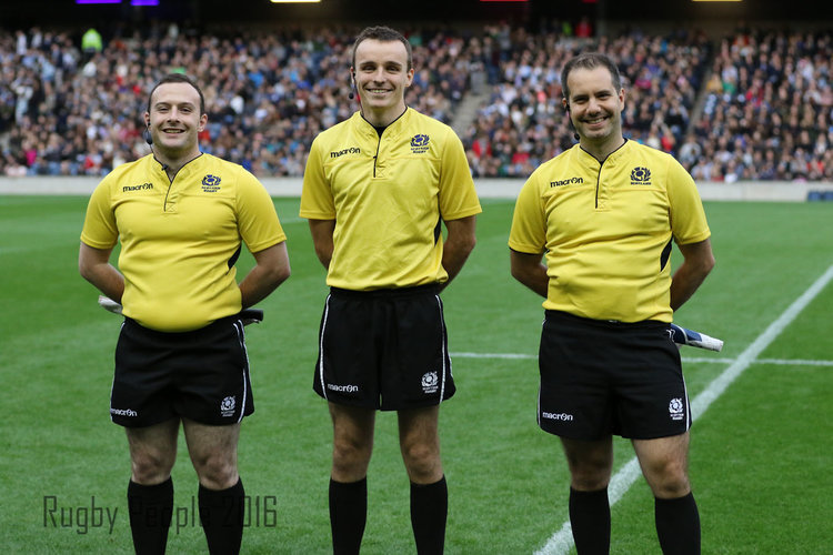 More Varsity referees!