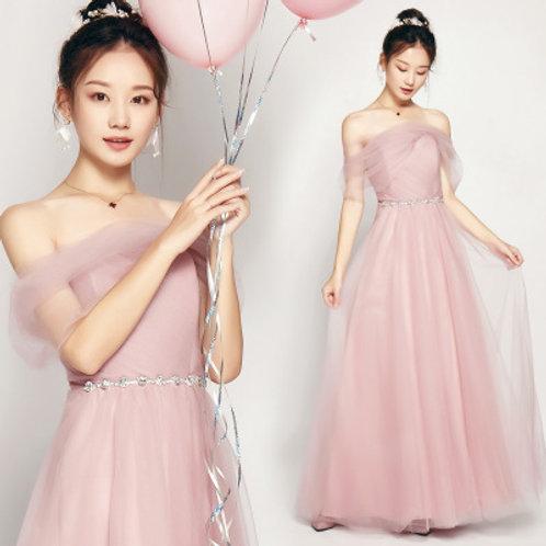 Pink-Bridesmaid Dresses