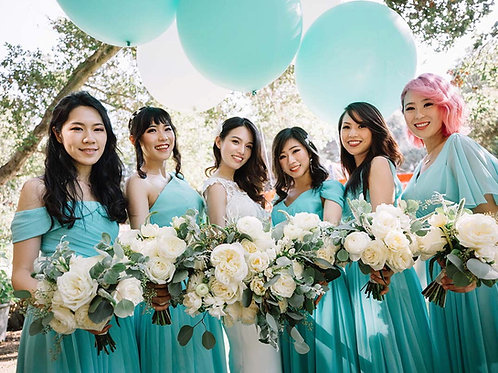 Tiffany Blue - Bridesmaid Dresses Rental