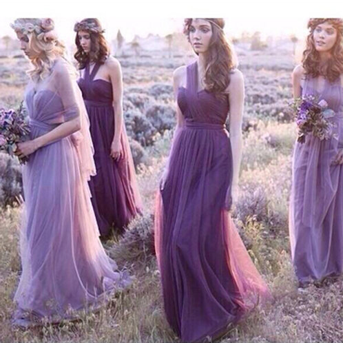Smoky purple (light) -Bridesmaid Dresses