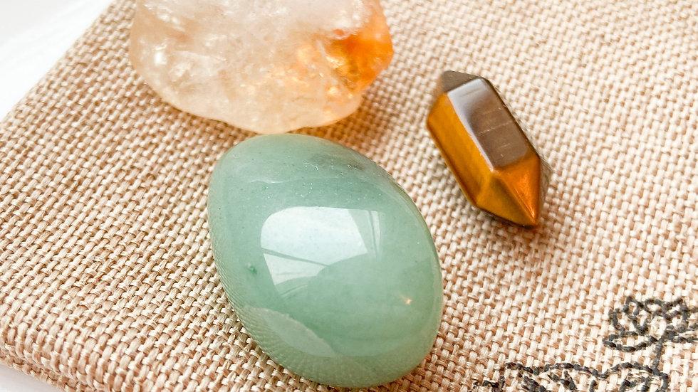 Trio of Abundance Crystals