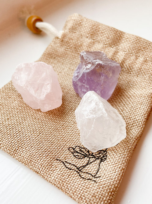Trio of Wellness Crystals
