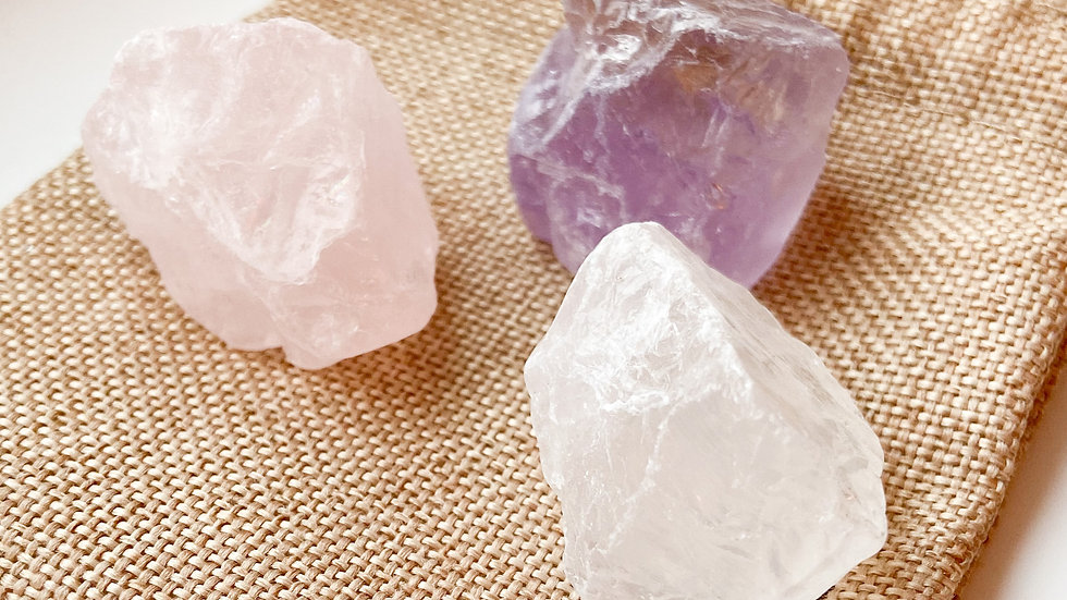 Trio of Wellness Crystals