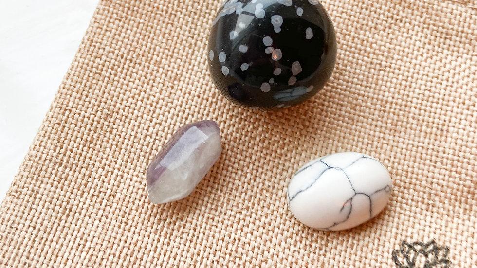 Trio of Zen Crystals