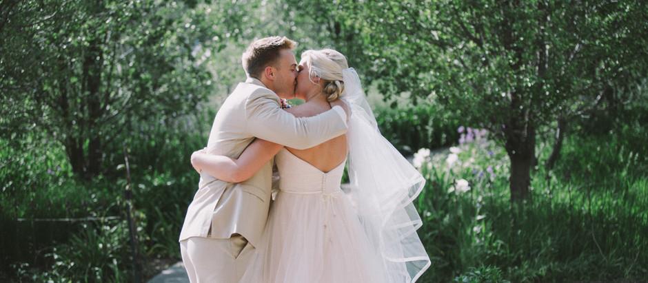 Alli & Adam - Whimsical Willow Creek, Iowa Wedding