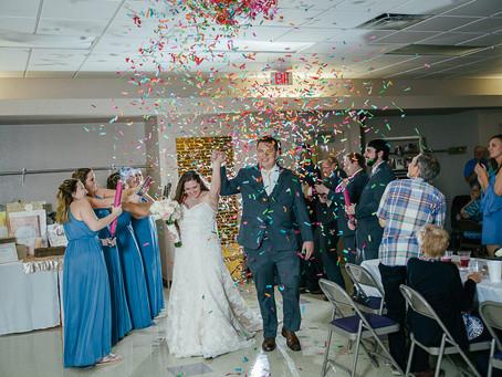 Hannah & Brock // Colorful Summer Wedding