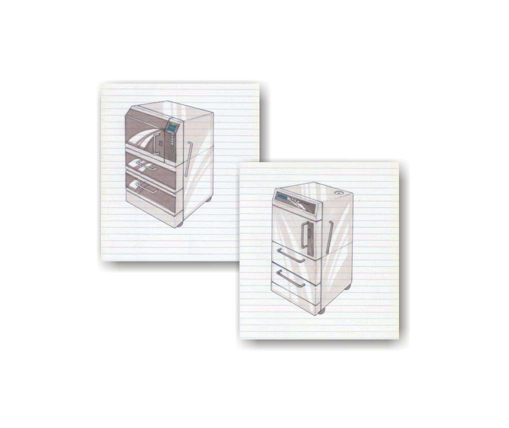 Autoclave - concept sketches