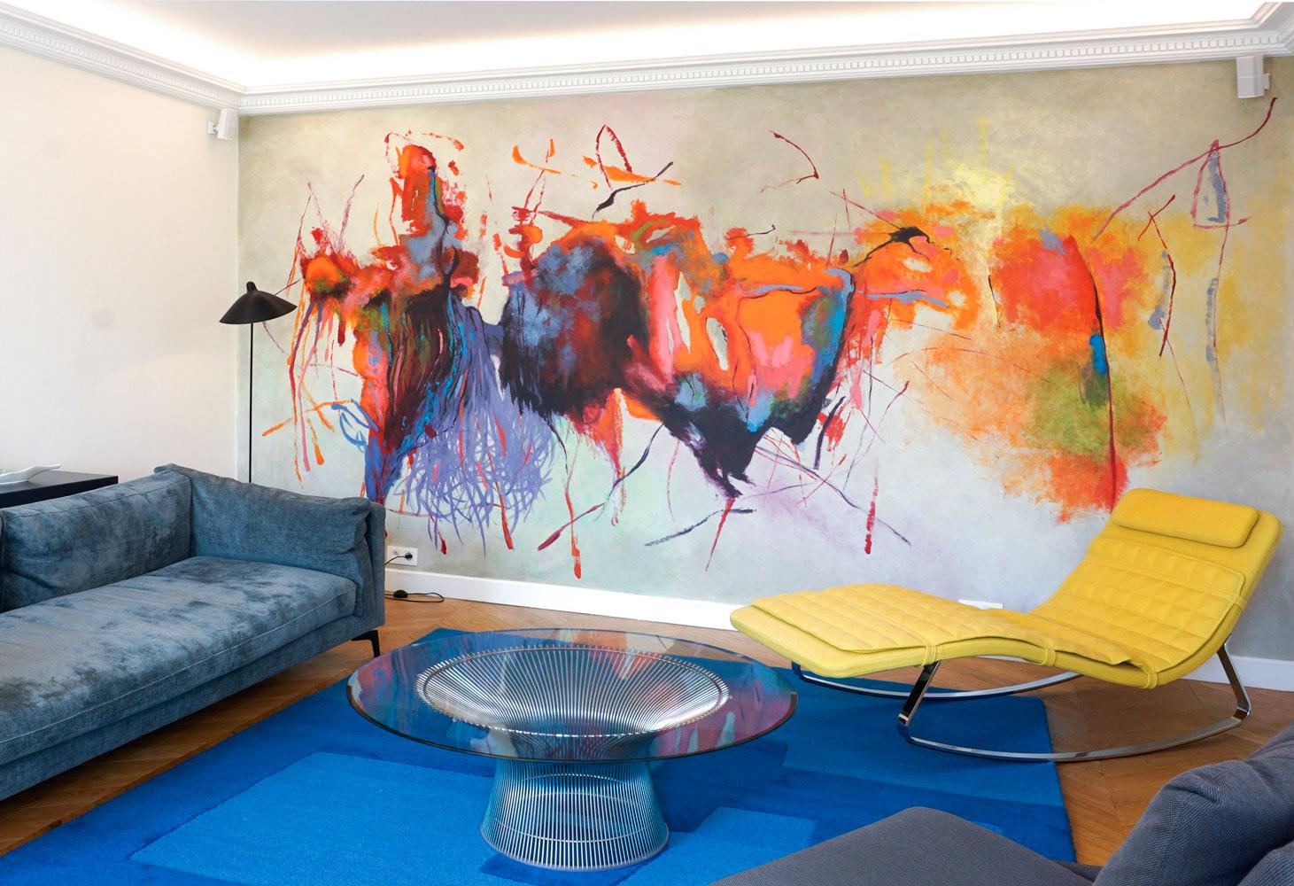 Oeuvre murale Marc Dannaud