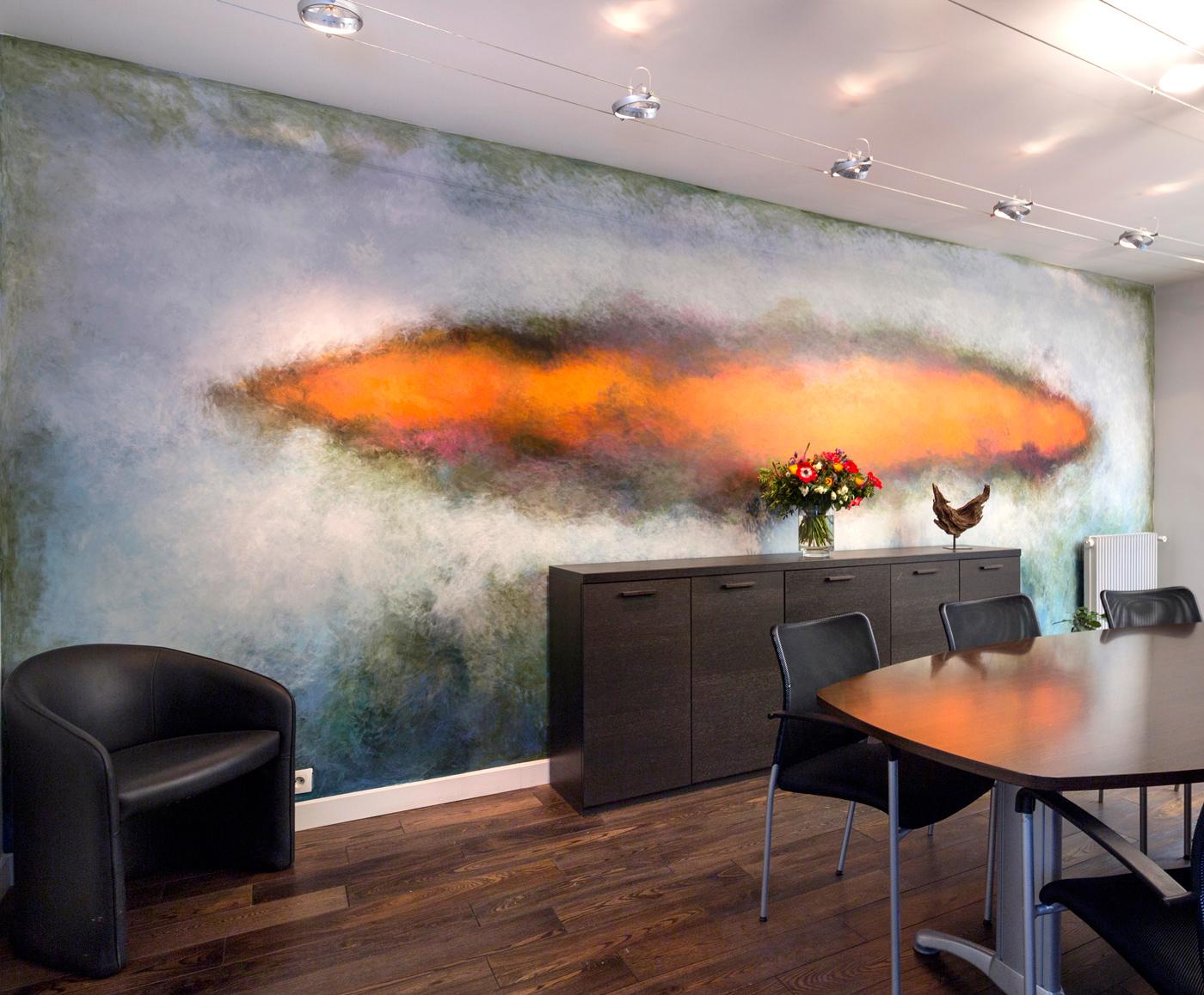 Fresque peinture murale marc Dannaud