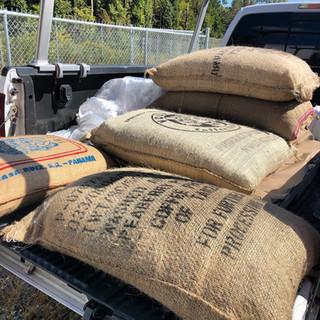 Shippment of coffee