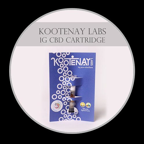 Kootenay CBD Vape Cartridge