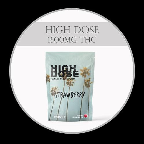 High Dose 1500mg THC Gummies