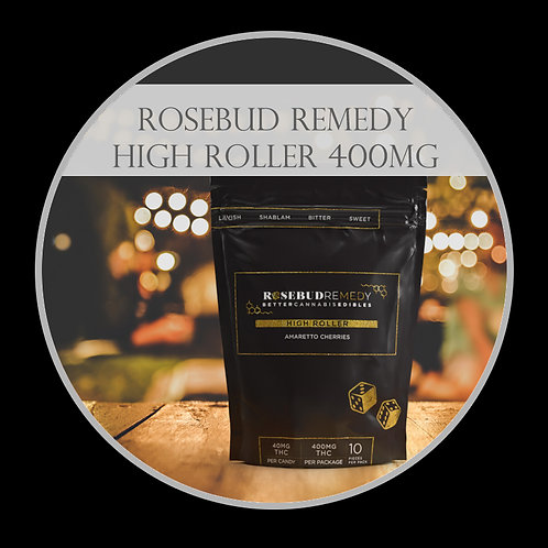 RoseBud Remedy High Roller 400mg