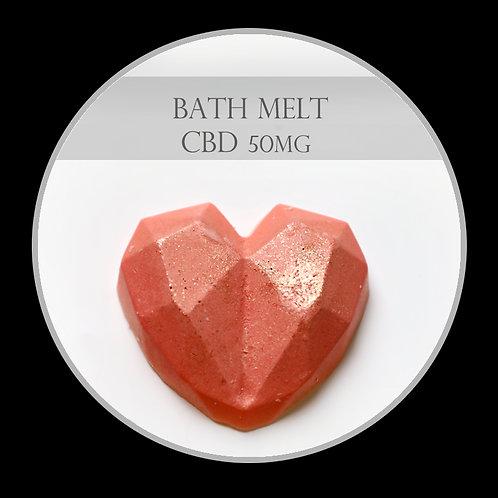 CBD Heart Bath Melt
