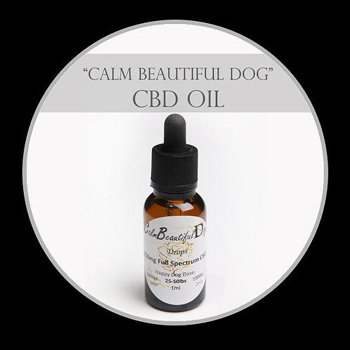 Calm Beautiful Dog CBD