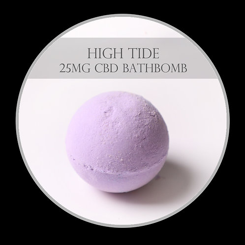 High Tide 25mg CBD Bath Bomb