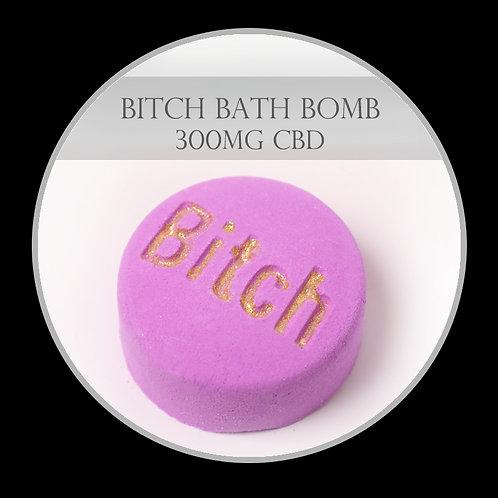 Bitch 300mg CBD Bath Bomb