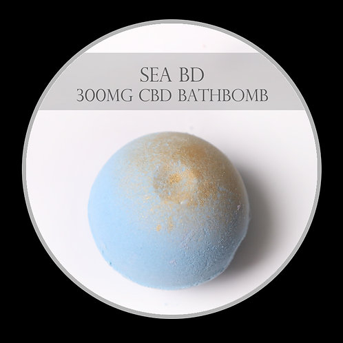 SeaBD 300mg CBD Bath Bomb