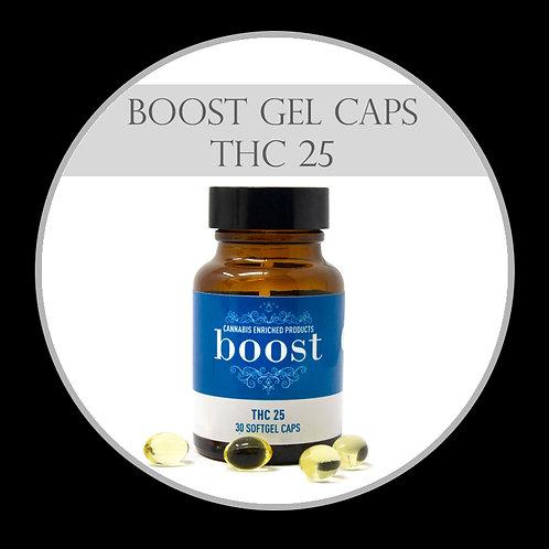 Boost Gel Caps - THC 25