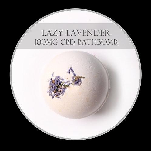 Lazy Lavender 100mg CBD Bath Bomb