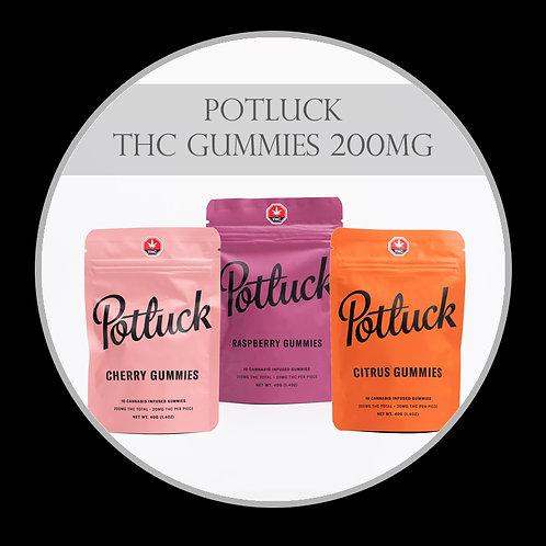 Pot Luck THC Gummies 200mg