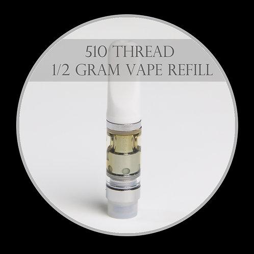 1/2 gram Vape Pen - 510 Thread Refills
