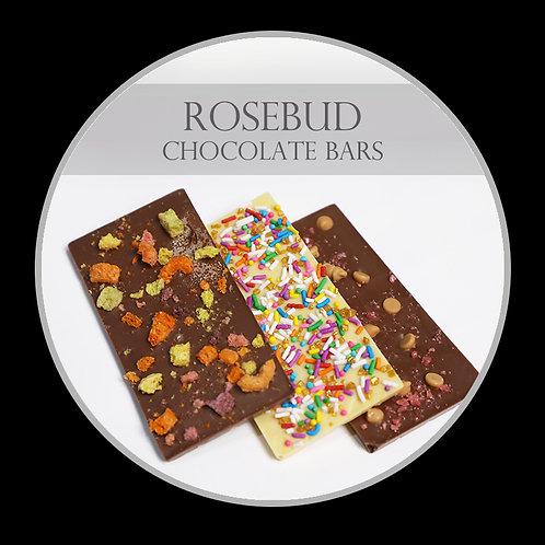 RoseBud Chocolate Bars