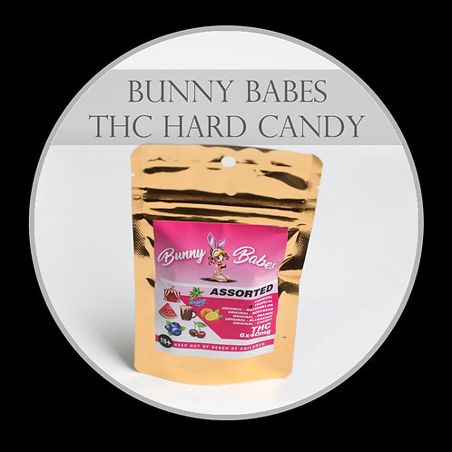 Bunny Babes Hard Candy - THC