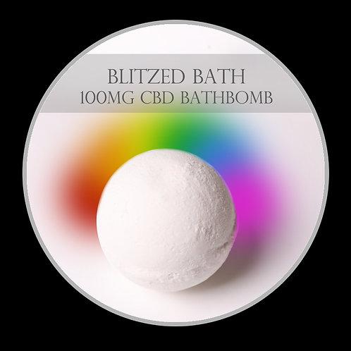Blitzed 100mg CBD Bath Bomb