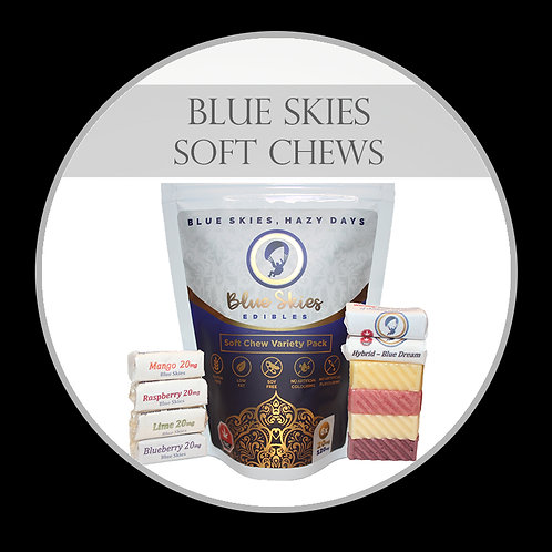 Blue Skies Soft Chews - Sour Smashed