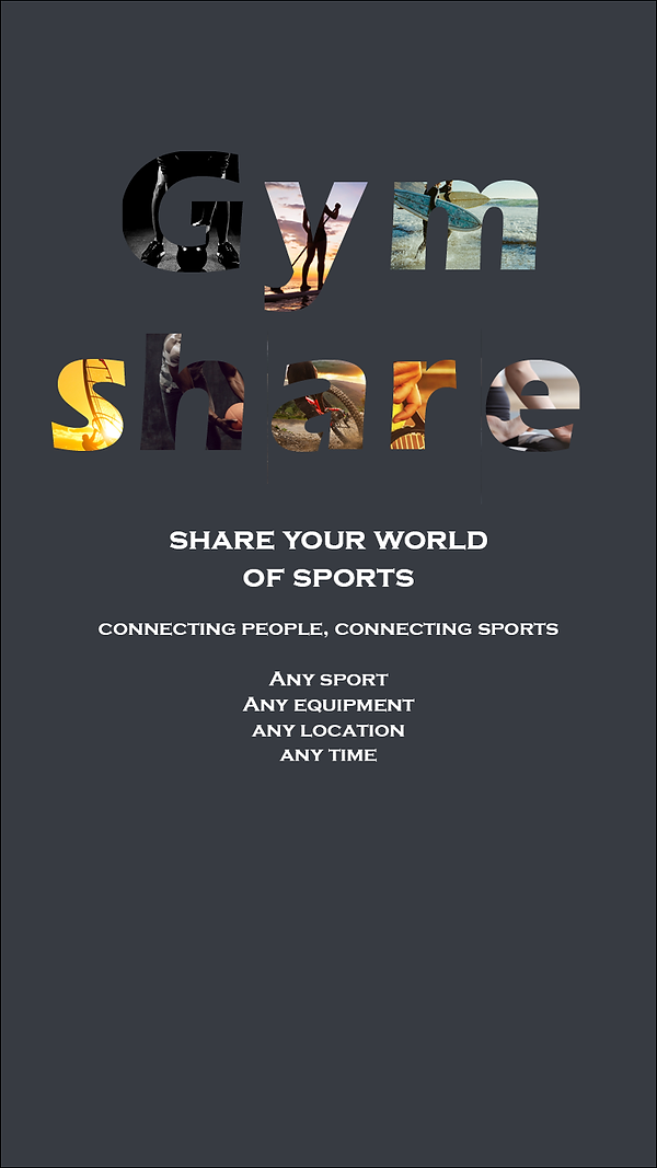 Gymshare share your world of sports mobi