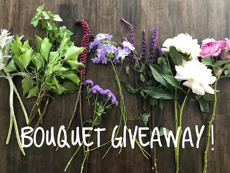 Bouquet Giveaway!