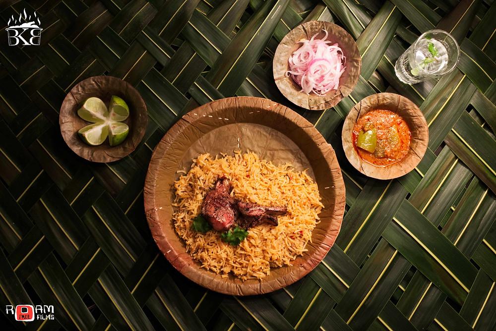 BKB Mutton biriyani - shot by Ramakrishna D