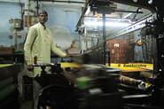 A weaver of Varanasi