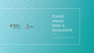 ACM publica primeiro Plano Anual para a Igualdade