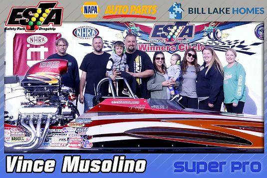 June 14 Super Pro Winner Vince Musolino