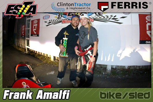 Bike/Sled Winner Frank Amalfi