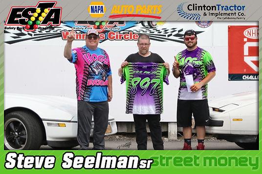 July 19 Street Money Winner Steve Seelman Sr.