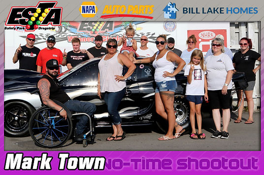 No Time Shootout Winner Mark Town