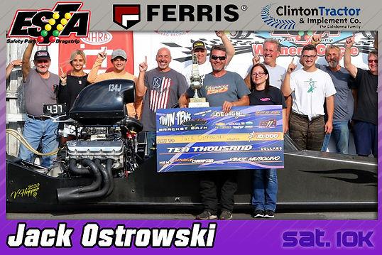 Jack Ostrowski - Saturday 10K Winner