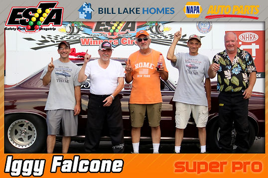 Super Pro Winner Iggy Falcone