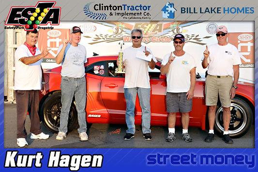 Street Money Winner Kurt Hagen