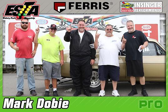 July 19 Pro Winner Mark Dobie