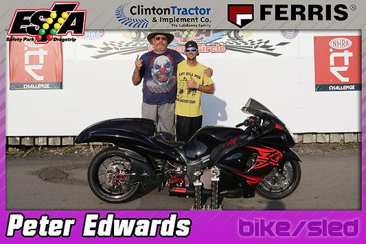 Bike/Sled Trophy Winner Peter Edwards
