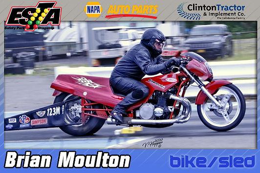 Bike/Sled Trophy Winner Brian Moulton