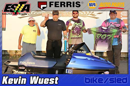 Bike/Sled Trophy Winner Kevin Wuest