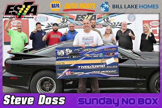 Sunday N-Box Winner Steve Doss