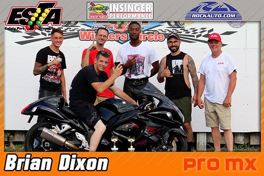 Pro MX Winner Brian Dixon